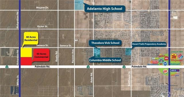 31025110 Palmdale Road/ Richardson Rd, Adelanto, CA  (#TR18228911) :: Impact Real Estate