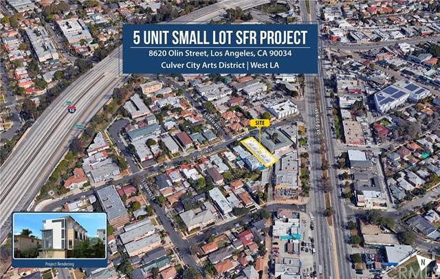 8620 Olin Street, Los Angeles (City), CA 90034 (#OC18228905) :: The Ashley Cooper Team