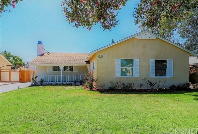 17110 Tribune St, Granada Hills, CA 91344 (#SR18227448) :: Fred Sed Group