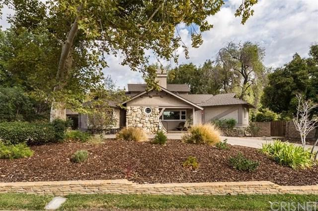 11514 Newcastle Avenue, Granada Hills, CA 91344 (#SR18228539) :: Fred Sed Group