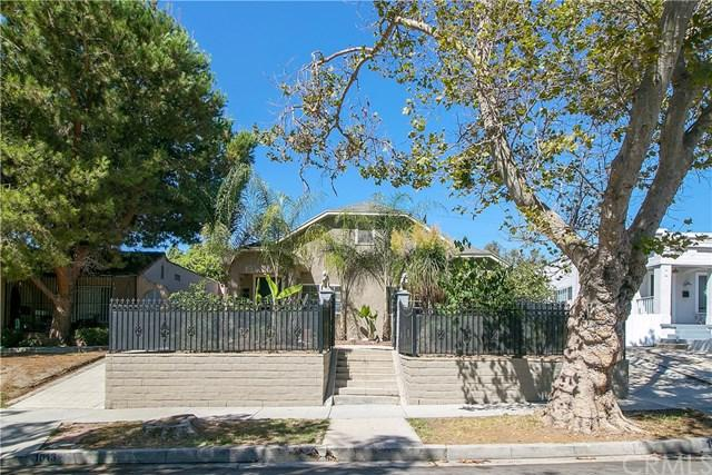 1011 S Plymouth Boulevard, Los Angeles (City), CA 90019 (#PW18229200) :: The Laffins Real Estate Team