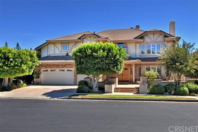 18621 Hillsboro Road, Porter Ranch, CA 91326 (#SR18229899) :: Team Tami