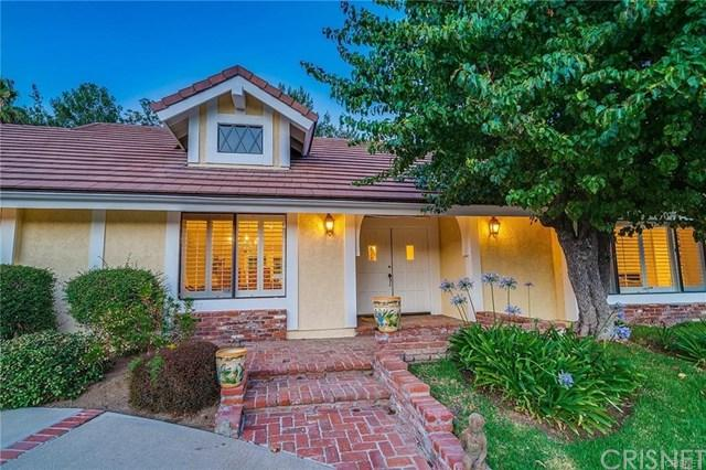 24592 Mulholland, Calabasas, CA 91302 (#SR18230228) :: The Laffins Real Estate Team
