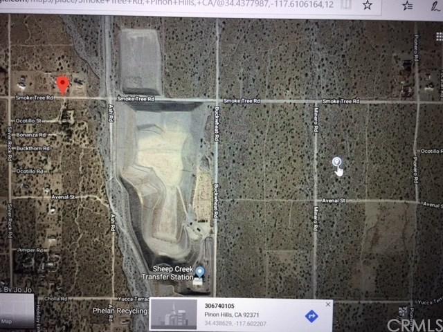 0 Smoke Tree Rd, Pinon Hills, CA 92372 (#WS18230509) :: Barnett Renderos