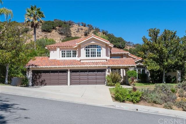 24929 Alicante Drive, Calabasas, CA 91302 (#SR18230885) :: The Laffins Real Estate Team