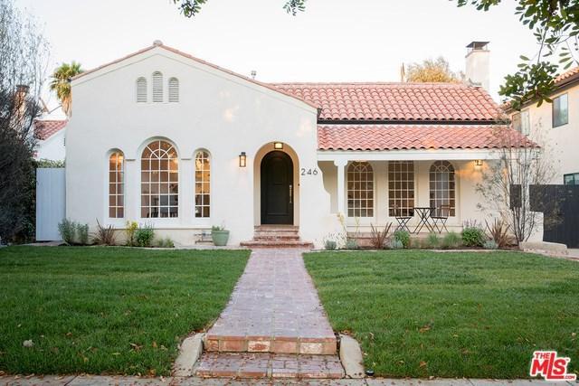 246 N Beachwood Drive, Los Angeles (City), CA 90004 (#18389522) :: RE/MAX Innovations -The Wilson Group