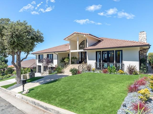 7137 Avenida Altisima, Rancho Palos Verdes, CA 90275 (#SB18232465) :: The Laffins Real Estate Team
