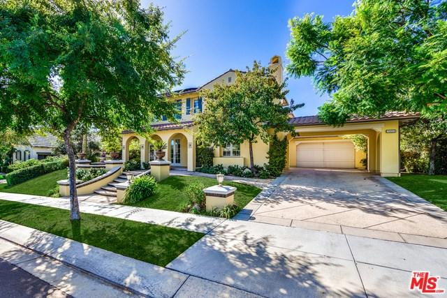 3955 Prado De Las Frutas, Calabasas, CA 91302 (#18389960) :: The Laffins Real Estate Team