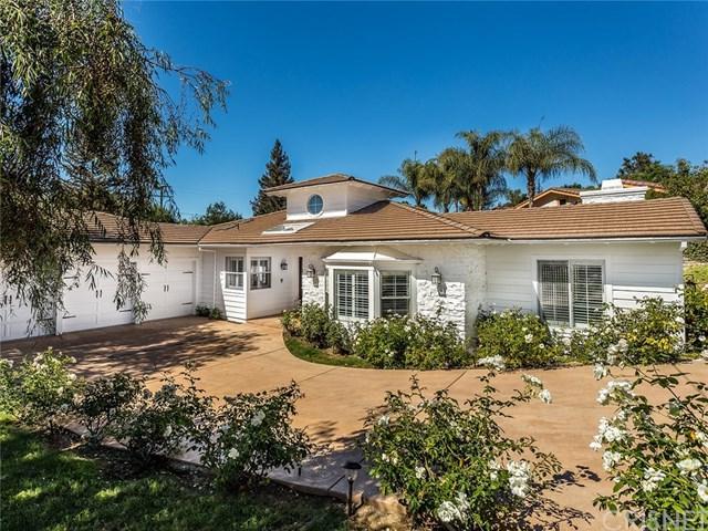 1437 Pleasant Oaks Place, Thousand Oaks, CA 91362 (#SR18239755) :: Fred Sed Group