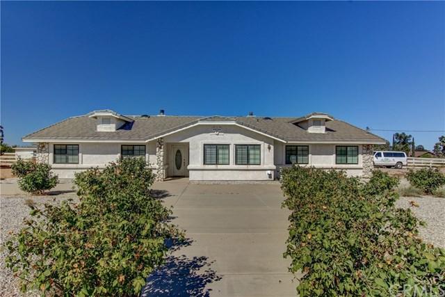 12244 El Centro Road, Oak Hills, CA 92344 (#IV18246564) :: The Laffins Real Estate Team