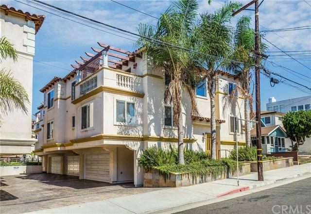613 1st Place, Hermosa Beach, CA 90254 (#PV18246742) :: Fred Sed Group