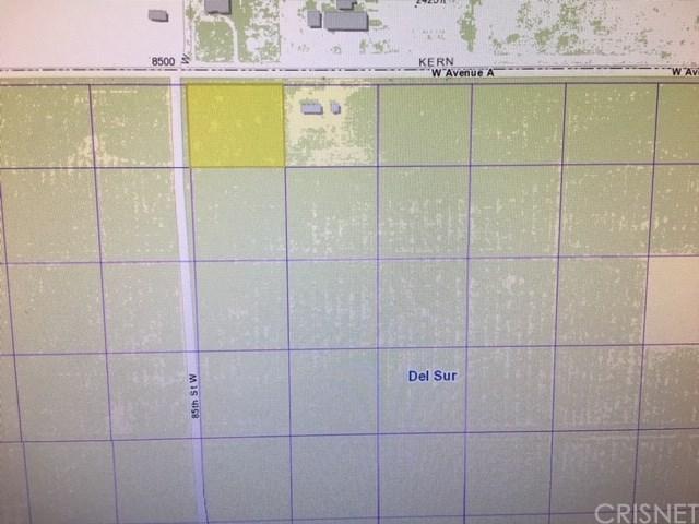 0 Vac/Cor Avenue A/Vic 85 Stw, Antelope Acres, CA 93536 (#SR18249797) :: RE/MAX Masters