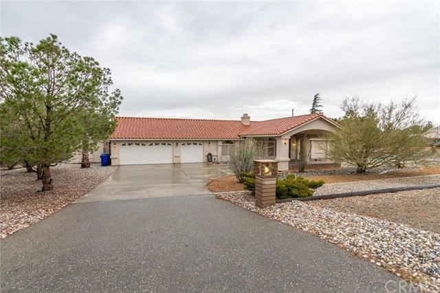 14084 Apple Valley Road, Apple Valley, CA 92307 (#OC18250722) :: The Laffins Real Estate Team