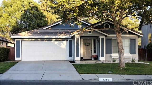43186 Corte Argento, Temecula, CA 92592 (#SW18250292) :: The Laffins Real Estate Team