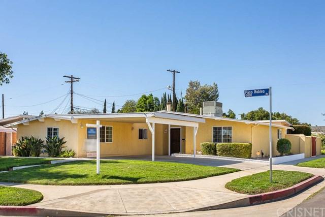 10819 Paso Robles Avenue, Granada Hills, CA 91344 (#SR18252852) :: Millman Team