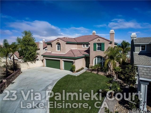 23 Via Palmieki Court, Lake Elsinore, CA 92532 (#OC18252913) :: Millman Team