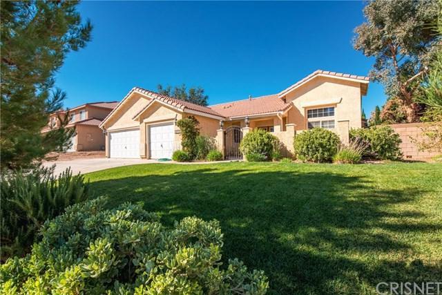 42125 Shadow Hills Drive, Lancaster, CA 93536 (#SR18253042) :: The Laffins Real Estate Team