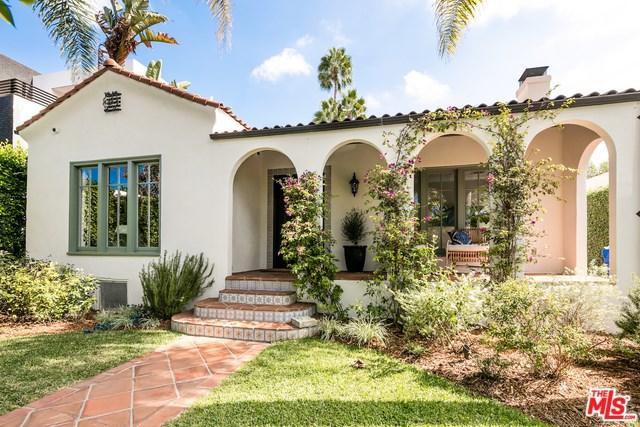 628 S Sycamore Avenue, Los Angeles (City), CA 90036 (#18398114) :: Millman Team