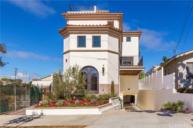 526 N Elena Avenue B, Redondo Beach, CA 90277 (#SB18259534) :: RE/MAX Masters