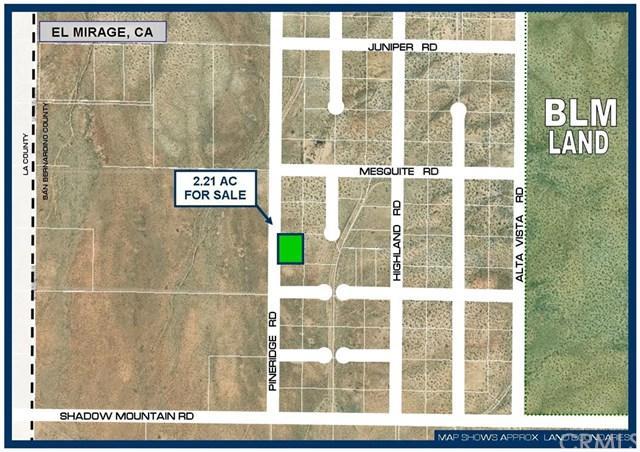 0 Pineridge Road, El Mirage, CA  (#SW18259913) :: Fred Sed Group