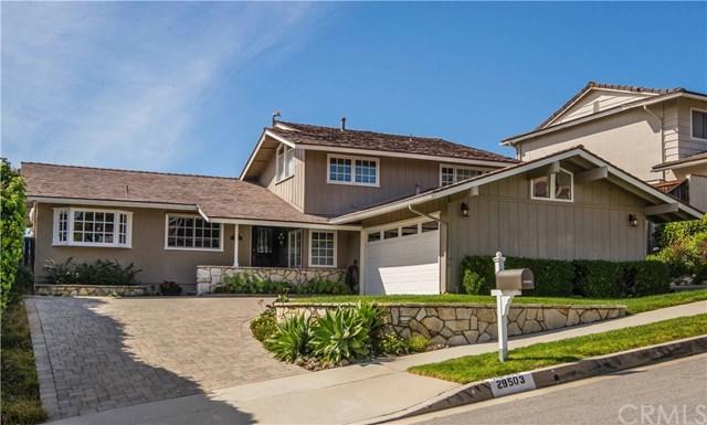 29503 Quailwood Drive, Rancho Palos Verdes, CA 90275 (#PV18266500) :: RE/MAX Masters
