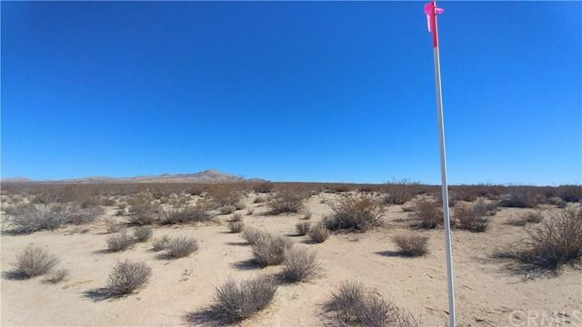 0 S Of Freemont Peak Road, Kramer Junction, CA 93516 (#SW18267857) :: Go Gabby