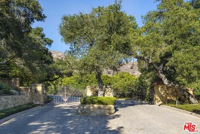 1355 Oak Creek Canyon Road, Montecito, CA 93108 (#18405652) :: Go Gabby