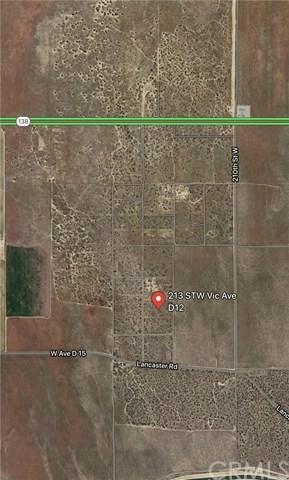 200-D12 Vac/Vic Avenue D12/200 Stw, Fairmont, CA 93536 (#DW18269661) :: RE/MAX Empire Properties