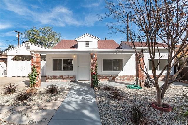 613-- 615 Woodworth Street, San Fernando, CA 91340 (#SR18238602) :: Fred Sed Group