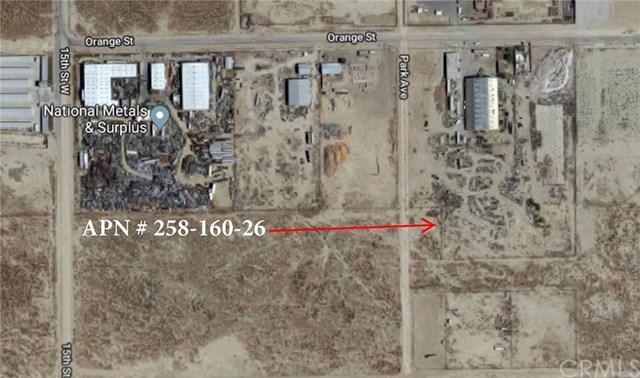 0 Vacant Land At 15Th St & Orange St., Rosamond, CA 93560 (#PW18275767) :: RE/MAX Parkside Real Estate