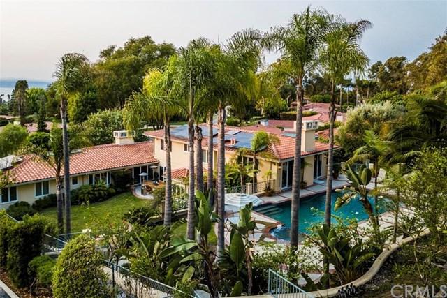 1416 Granvia Altamira, Palos Verdes Estates, CA 90274 (#SB18279498) :: Millman Team