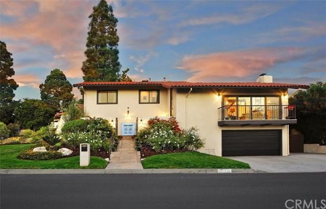 1800 Via Estudillo, Palos Verdes Estates, CA 90274 (#PV18276895) :: Millman Team