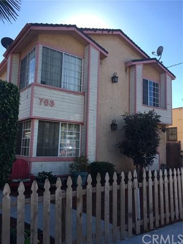 763 W 17TH Street W, San Pedro, CA 90731 (#SB18280938) :: Fred Sed Group