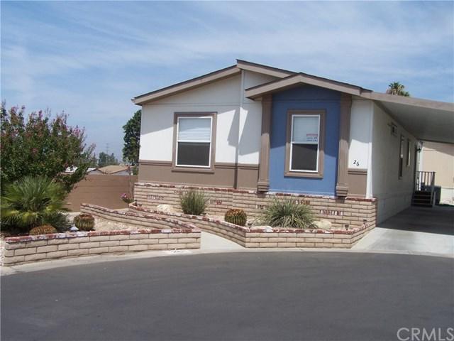 2140 Mentone Boulevard #26, Mentone, CA 92359 (#EV18282744) :: Fred Sed Group