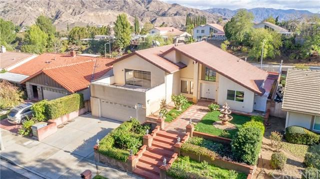 11930 Stewarton Drive, Porter Ranch, CA 91326 (#SR18282978) :: Fred Sed Group