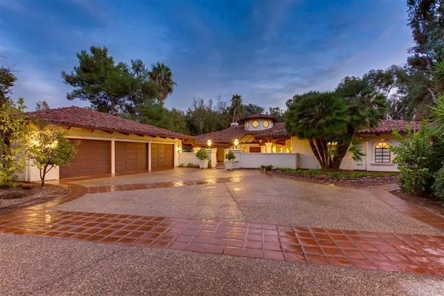 16745 Avenida Arroyo Pasajero, Rancho Santa Fe, CA 92067 (#180065741) :: Ardent Real Estate Group, Inc.