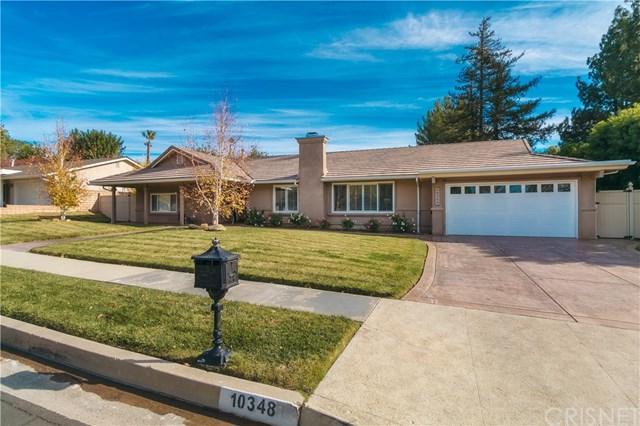 10348 Laramie Avenue, Chatsworth, CA 91311 (#SR18284789) :: Go Gabby
