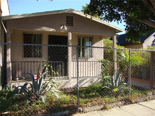 10806 Juniper Street, Los Angeles (City), CA 90059 (#DW18284856) :: Fred Sed Group