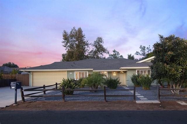 846 Monticello, Escondido, CA 92029 (#180066324) :: Fred Sed Group