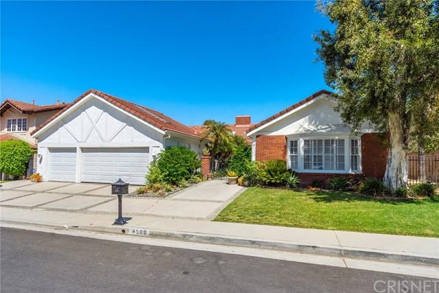4500 Dulcinea Court, Woodland Hills, CA 91364 (#SR18288659) :: Fred Sed Group