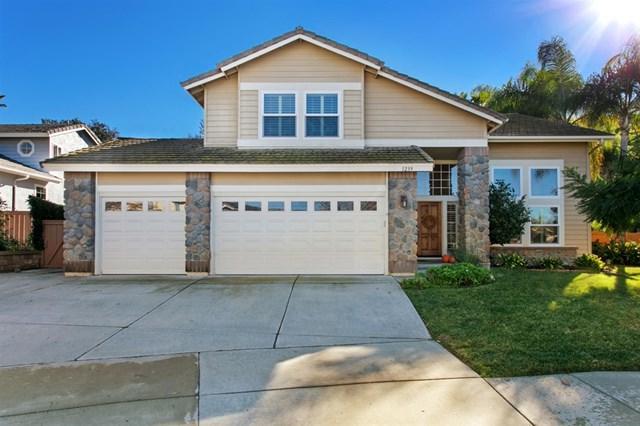 1239 Orchard Glen Circle, Encinitas, CA 92024 (#180067036) :: Fred Sed Group