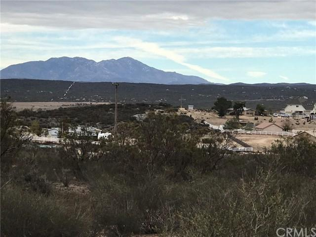0 (Lot #733) Rolling Hills Drive, Aguanga, CA 32129 (#SW18289243) :: Hart Coastal Group