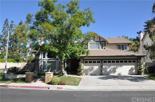 18235 Chatham Lane, Porter Ranch, CA 91326 (#SR18282588) :: Ardent Real Estate Group, Inc.