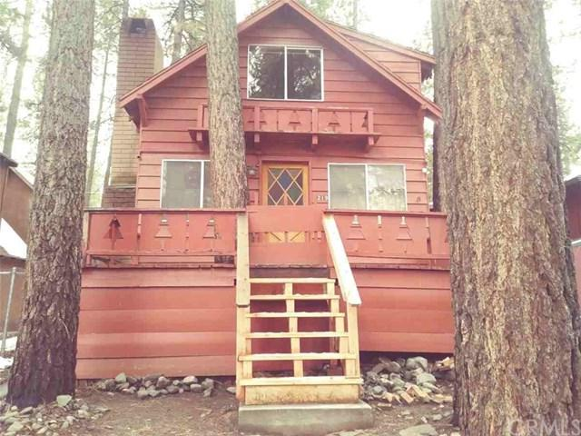 1219 Edna Street, Wrightwood, CA 92397 (#CV18289400) :: The Laffins Real Estate Team