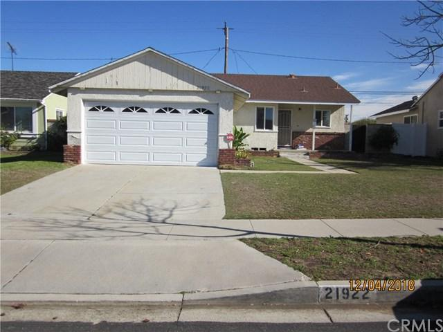21922 Ladeene Avenue, Torrance, CA 90503 (#WS19001955) :: The Laffins Real Estate Team