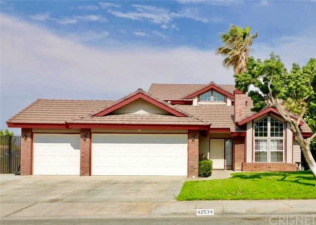 42534 62nd Street W, Quartz Hill, CA 93536 (#SR19009633) :: Hart Coastal Group