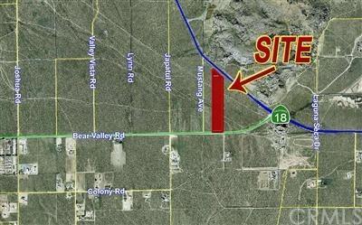 0 Hwy 18/ Bear Valley Rd Road, Apple Valley, CA 92307 (#EV19010904) :: Mainstreet Realtors®