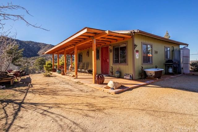 48317 Burns Canyon Road, Pioneertown, CA 92268 (#JT19011914) :: Fred Sed Group