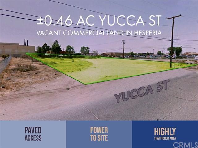 0 Yucca Street, Hesperia, CA 92345 (#OC19012292) :: Mainstreet Realtors®