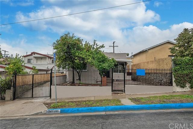 843--845 Lopez Avenue, Los Angeles (City), CA 90022 (#DW19013717) :: Barnett Renderos